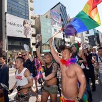 Gay pride march kicks off first 'Tokyo Rainbow Week'