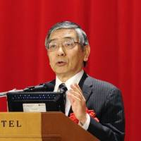 Kuroda: BOJ easing not tied to two years