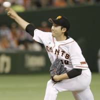 Giants' Sugano fans 10 batters in eight stellar innings