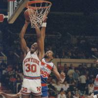 Sky King: Bernard King, seen here playing for the New York Knicks in 1987, waited 20 years to get into the Hall of Fame. The delay brings to light the lack of transparency in the election process. | AP