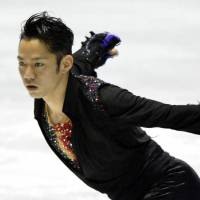 Takahashi triumphs in men's singles competition