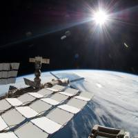 Into the dark: A $2 billion cosmic ray detector on the International Space Station has found the footprint of what could be dark matter, the mysterious substance believed to hold the cosmos together. | AP