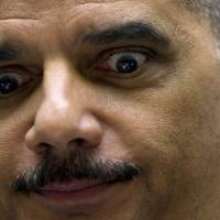 Law and order: U.S. Attorney General Eric Holder testifies before the House Judiciary Committee in Washington in December. | AFP-JIJI