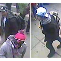FBI releases video images of Boston bombing suspects, appeals for public's help