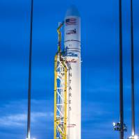 U.S. firm's first Antares rocket launch a success