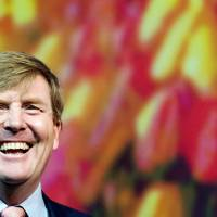 Incoming: Prince Willem-Alexander attends the opening of The Next Web Conference in Amsterdam on Thursday. | AFP-JIJI