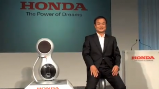 [VIDEO] Honda unveils U3-X, a new personal mobility device