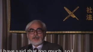 [VIDEO] Hayao Miyazaki press conference (Part 2)