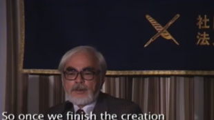 [VIDEO] Hayao Miyazaki press conference (Part 3)