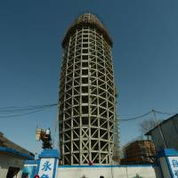 China on the rise manifested in newspaper's phallic HQ