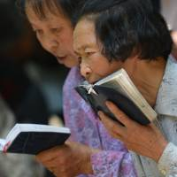 China pilgrims barred from Catholic parade