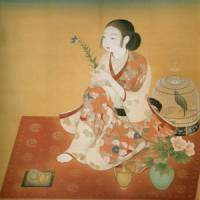 Hint of perfume: 'Woman' (1925) by Nakamura Daizaburo. | NATIONAL MUSEUM OF MODERN ART, KYOTO