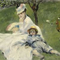 Scenic life: 'Madame Monet and Her Son,' (1874) by Pierre-Auguste Renoir | NATIONAL GALLERY OF ART, WASHINGTON/AILSA MELLON BRUCE COLLECTION