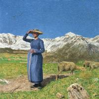 'Midday in the Alps' (1891) | SEGANTINI MUEUM, ST. MORITZ