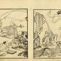 'Katsushika Hokusai and Kawanabe Kyosai: Fantastic Comics'