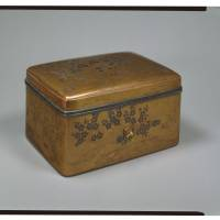 Accessory box with maki-e lacquer plum blossoms design, National Treasure. (13TH CENTURY) | MISHIMA TAISHA, SHIZUOKA