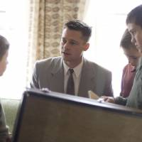 Father knows best: Brad Pitt plays an authoritarian father of three in Terrence Malick's new film, 'The Tree of Life.' | (C) 2010COTTONWOOD PICTURES, LLC. ALL RIGHTS RESERVED
