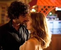 Dangerous kiss: Alex (Romain Duris) and Juliette (Vanessa Paradis) flirt with infidelity in 'Heartbreaker.' | © 2010 YUME-QUAD FILMS / SCRIPT ASSOCIES / UNIVERSAL PICTURES INTERNATIONAL / CHAOCORP