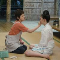 No woman is an island: Usually-absent mother Akemi (Shinobu Otake, left) gives her daughter Yuna (Ayaka Miyoshi) some rare attention in 'Tabidachi no Shima Uta — Jugo no Haru (Leaving on the 15th Spring).' | © 2012