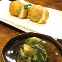 The izakaya serves dishes suited to drinking, such as spring bamboo shoot (above) and an oden (below) fit to win over oden sceptics. | ROBBIE SWINNERTON PHOTOS