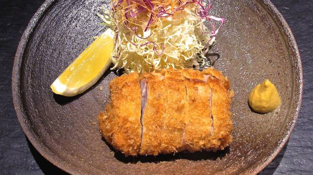 Ginza offers <em>tonkatsu</em> that's a cutlet above