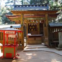 Shrine sights: The 400-year-old Oku Miya Shrine. JON MITCHELL PHOTOS