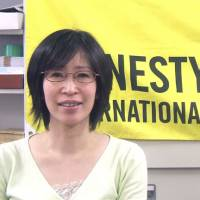 Sonoko Kawakami, campaign coordinator of Amnesty International Japan, has been involved with NGO activities for nearly two decades. | GIANNI SIMONE