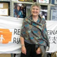 Refugees International Japan President Jane Best