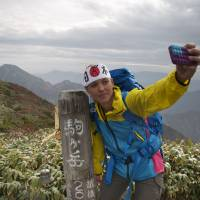 #99: My penultimate Hyakumeizan peak, Mount Hiuchi, on Oct. 11, 2011