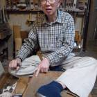 Master craftsman carries on <em>sashimono </em>tradition