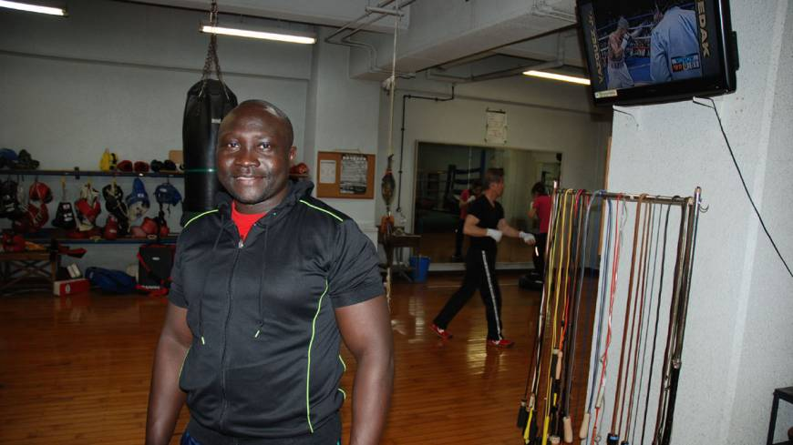 Uganda boxing trainer gives expert advice to aspiring pugilists