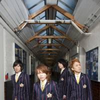 Class is in: Hiroshi Shibasaki, Takanori Nishikawa, Sunao and Toshiyuki Kishi make up Abingdon Boys School. The band has returned to Japan after an extensive European tour and is releasing their second album titled 'Abingdon Road.'