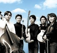 All that jazz: Sous son Nuage is made up of (from left) Kyouhei Abe, Heisuke Kato, Masayoshi Tomioka, Nao Kobayashi and Mizuyo Kawamata.