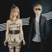 Pop pairing: Toshiko Koshijima (left) and Yasutaka Nakata make up technopop group capsule. Nakata says the pair worked together much more as a duo on their new album 'World of Fantasy' than they have in the past 10 years.