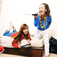 Sonic slumber party: @djtomoko (left) and partner Ucca-Laugh used social media to help bolster their musical careers.