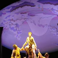 Tohoku play finds friends in ghostly places