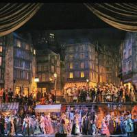 The show must go on: The Metropolitan Opera from New York performs 'La Boheme' in Nagoya and Tokyo. | KEN HOWARD, METROPOLITAN OPERA