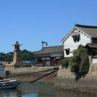 Time capsule: Tomonoura's picturesque Edo Period harbor and imposing lighthouse.