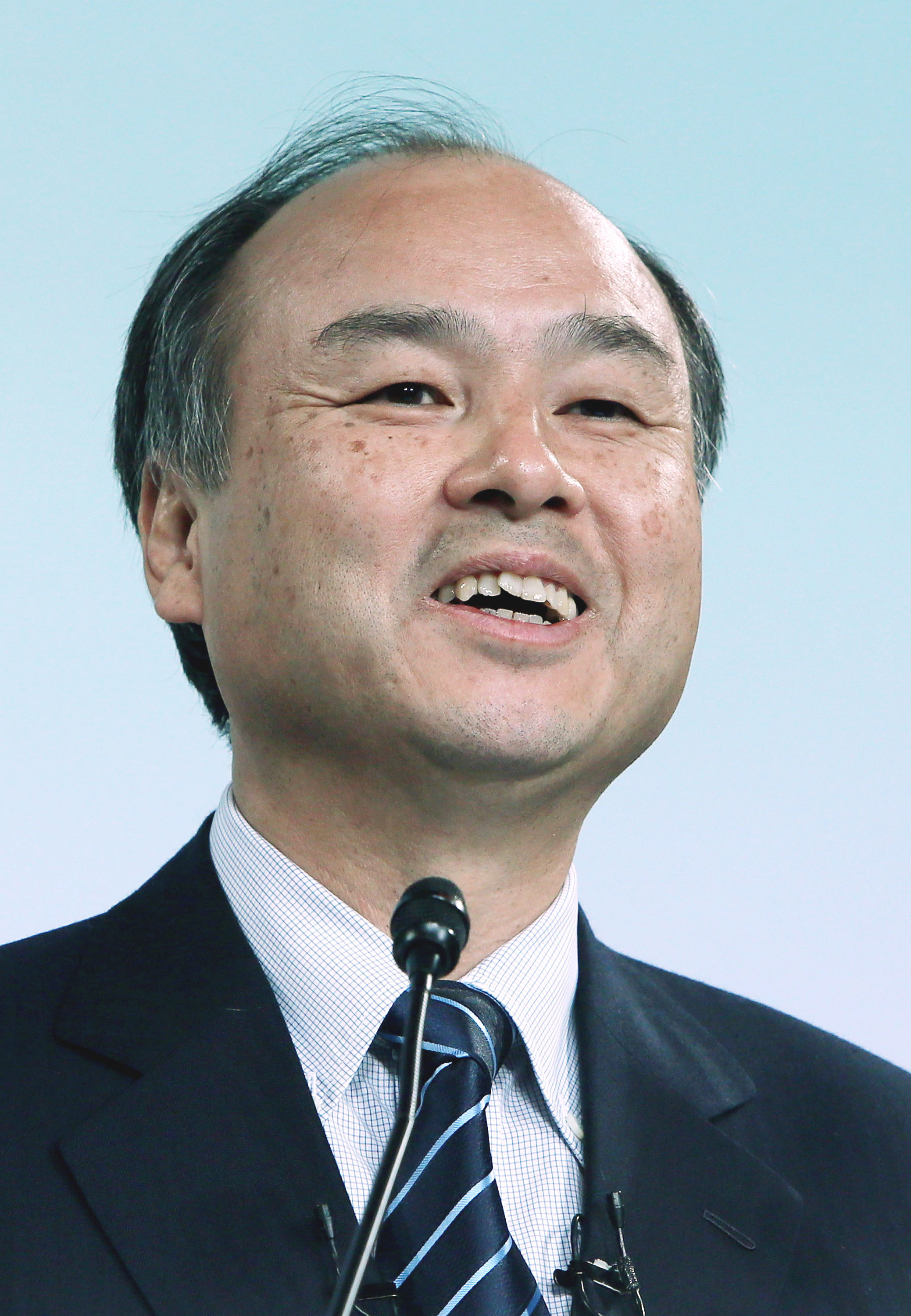 Masayoshi Son earned a  million dollar salary, leaving the net worth at 22300 million in 2017