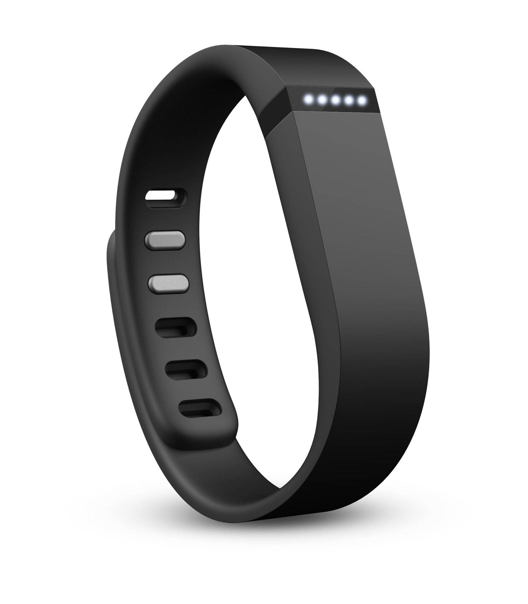 The Fitbit Flex monitors your activity and sleep, sending data to your smart phone.