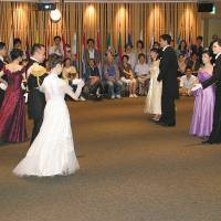 Performance: Classical Viennese dancing in full dress captivates the audience at Europa House in Tokyo during the open day event last year. | EU DELEGATION TO JAPAN