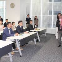 Rise and study: Nagoya school helps workers to help locales
