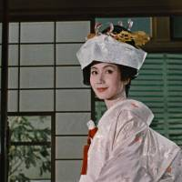 Spruced up: Yasujiro Ozu's 1962 film 'An Autumn Afternoon' has been digitally restored to celebrate the 110th anniversary of his birth this year. | SHOCHIKU CO./KYODO