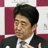 Abe's spin: We're ready to talk about abduction issue
