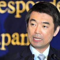 Hashimoto looks to deflect sex slave blame