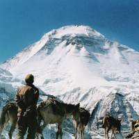 Dangerous peak: Renowned climber Chizuko Kono, a Spanish man and their Nepalese guide have died on Nepal's rugged Dhaulagiri peak, seen in this file photo taken in 1994. | KYODO