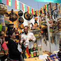 Africa fair spices up TICAD venue