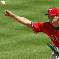Darvish ties career-high with 14 strikeouts