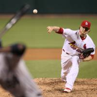 Cards' Miller nearly perfect