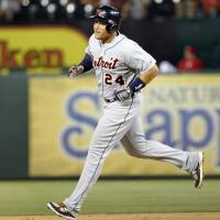 Cabrera's three blasts not enough for Tigers